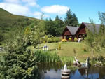 Dontra log chalets self catering Banavie Fort william