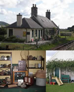 Loth Station: collection of railway memorabilia, as well as antiques, vintage fishing tackle and angling and railway books for sale