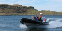 Oban Rib Trips round the Isle of Kerrera, Oban Scotland