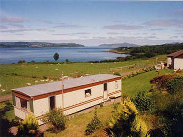 Fasgadh Holidays - Self Catering Caravan at Drimnin, Morvern, west highlands of scotland