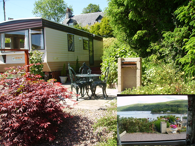 Kyle Self Catering Caravan at Lochaline Morvern