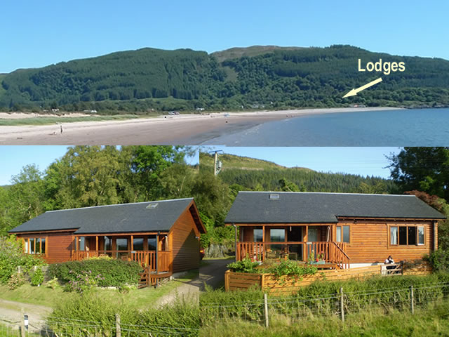 Port Selma Lodges Benderloch near Oban -self catering