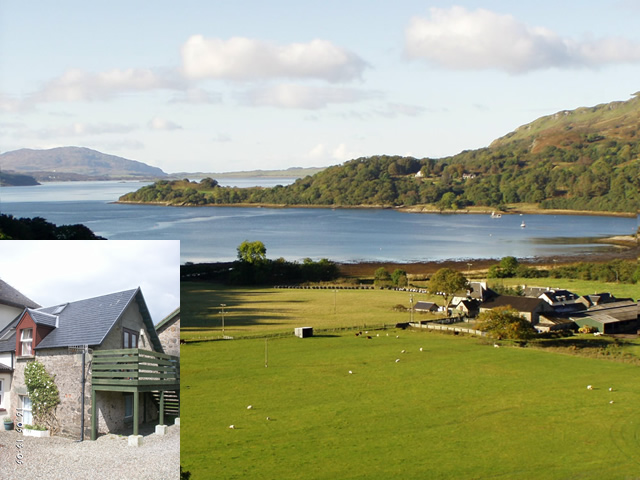 Loch Melfort Self catering - Old Dairy Cottage Kilmelford by Oban