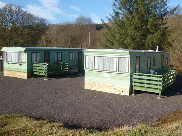 Memorial Field Caravans by Loch Awe -Self catering caravans Kilchrenan near Oban
