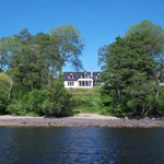 Feoran Self Catering on the shore of Loch Awe Kilchrenan near Oban Loch Awe