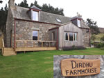 Dirdhu Farmhouse self catering in heart of Cairngorms National Park in the Highlands of Scotland